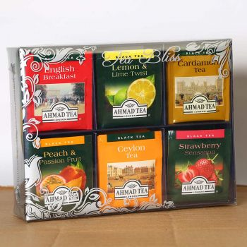 Ahmad Tea Bliss Fruit and Specialty Collection 72 Foil Tea Bags Serendib Store