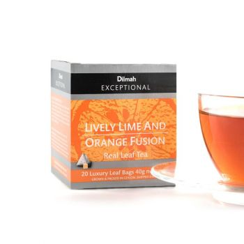Dilmah Lively Lime and Orange 20 Luxury Tea Bags Serendib Store