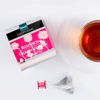 Dilmah Rose With French Vanilla 20 Luxury Tea Bags Serendib Store