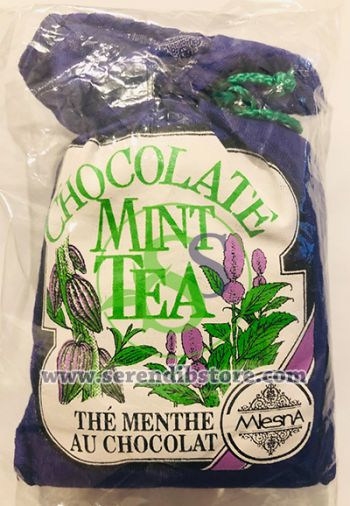Mlesna Mint and Chocolate Tea Cloth Pouch 50g Serendib Store